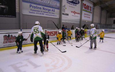 Oppstart hockeyskolen blir førstkommende søndag