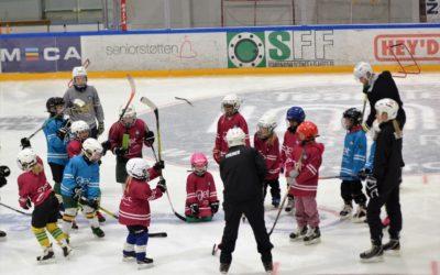 Jentedag på isen, Lørdag 17. oktober var Manglerudhallen full av jenter